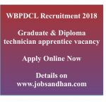 WBPDCL Recruitment 2018 Technician Apprentice Vacancy 60 Posts