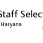 haryana ssc job govt