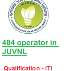 484 ITI post in JUVNL for assistant Operator Fitter Line man
