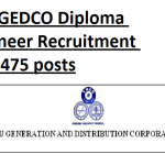 1475 diploma field assistant in TANGEDCO 2016