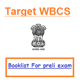 WBCS books list preparation tips strategy preliminary exam
