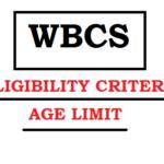 WBCS eligibiltiy criteria age limit