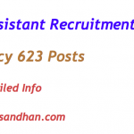 RBI Assistant Recruitment 2017 Notification Vacancy 623 Posts