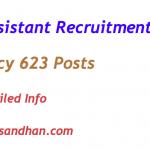RBI Assistant Recruitment 2017 Notification Vacancy 623 Posts