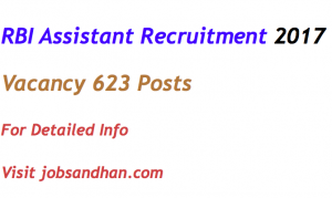 rbi assistant recruitment 2017 vacancy application form office oa eligibility criteria age limit qualification reserve bank of india