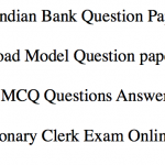 South Indian Bank Previous Paper Download Clerk PO Old Question Solved PDF