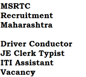 msrtc recruitment maharashtra 2017 apply online eligibility criteria iti je assistant clerk post job