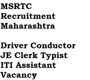 msrtc recruitment maharashtra 2017 apply online eligibility criteria iti je assistant clerk post job