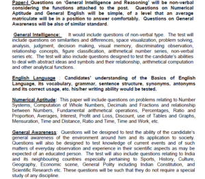ssc mts syllabus exam pattern download selection process recruitment pdf multi tasking staff non technical