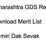 Maharashtra GDS Result 2017 Merit List Gramin Dak Sevak Postal Circle