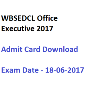 wbsedcl exam date written test office executive oa 2017 admit card hall ticket download computer proficiency test