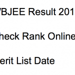 wbjee 2018 result rank list scorecard west bengal joint entrance exam check result rank scorecard marksheet online engineering wbjeeb.nic.in medical merit list