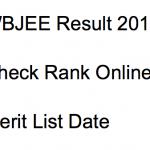 wbjee 2018 result rank list scorecard west bengal joint entrance exam check result rank scorecard marksheet online engineering wbjeeb.nic.in medical merit list