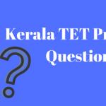 Kerala TET Previous Years Question Paper Download PDF MCQ Set