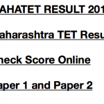 MAHATET Result 2017 Paper 1 2 Merit List Expected Cut Off Marks