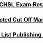 SSC CHSL Cut Off Marks 2018 Result Tier 1 Expected Merit List ssc.nic.in