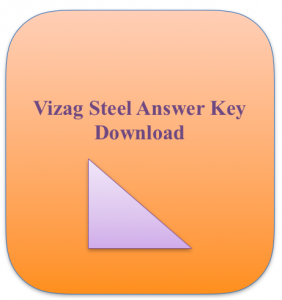 vizag steel junior trainee answer key 2018 download model solution sheet expected solved paper with solution download pdf held on 25 26 27 28 october 2018 Junior Trainee JT