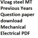Vizag Steel Management Trainee Re-exam New Date 2017 Admit Card