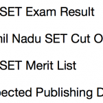 TNSET Result 2018 Cut Off Marks Expected Merit List MTWU Tamil Nadu