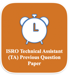 isro technical assistant previous years question paper download isro ta old solved question papers earlier years