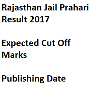 rajasthan jail prahari result 2017 expected cut off marks warder warden merit list publishing date rajprisons.in policeuniversity.ac.in spup sardar patel
