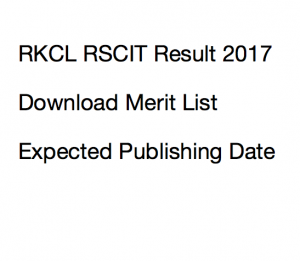 vmou rkcl rscit result 2017 rajasthan merit list 17 september 2017 publishing date