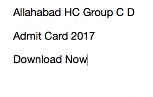 ahc group c d admit card download 2017 stenographer driver 2017