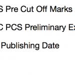 UPPCS Pre Expected Cut Off Marks 2017 Result Merit List