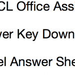 UPPCL Office Assistant Answer Key 2017 Solution Sheet Download