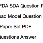 kpsc fda sda previous years question paper download solved model set practice PDF model MCQ Questions answers download first division assistant secodn division assistant practice sample set