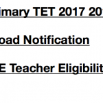 WB Primary TET 2017 Notification WBBPE Application Form News