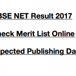 CBSE NET Result 2017 Cut Off Marks Expected Merit List Date