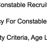 CISF Constable Recruitment 2017 Tradesman Vacancy 378 Posts