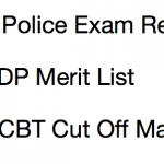 Delhi Police Constable Result 2017 Cut Off Marks SSC DP Merit List Expected