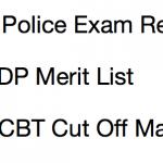 Delhi Police Constable Result 2017 Cut Off Marks SSC DP Merit List Expected
