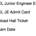 GSECL JE Admit Card 2017 Exam Date Hall Ticket Download Engineer