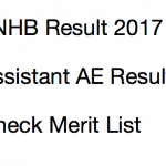 TNHB Result 2017 Assistant AE Junior Technical Cut Off Marks