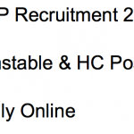 ITBP Constable HC Recruitment 2018 Vacancy 241 Posts Head Constable
