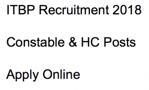 itbp constable driver recruitment driver 2018 constable head constable vacancy application form posts hc motor mechanic mm application form apply online