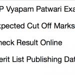 MP Vyapam Patwari Cut Off marks 2017 Result Publishing Date