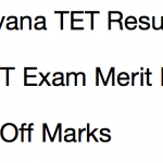HTET Result 2017 Haryana TET Result Date Cut Off Marks Merit List