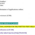 isro assistant result 2017 2018 cut off marks minimum qualifying score udc clerk assistant merit list publishing date expected