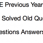 BPSC CCE Previous Question Paper Download Solved PDF PT Mains