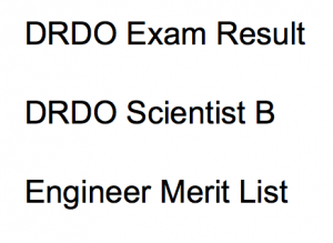 drdo scientist b result 2017 2018 engineer rac cut off marks expected merit list publishing date