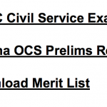 OPSC Civil Service Result 2017-18 Cut Off Marks Exam OCS Merit List