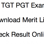 UP TGT Result PGT Publishing Date 2016-2017 UPSESSB Merit List