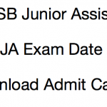 JKSSB Junior Assistant Admit Card 2017 Exam Date Download Hall Ticket