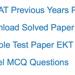 AFCAT EKT Previous Years Question Paper Download Solved PDF