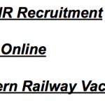Northern Railway Apprentice Vacancy 2017 RRC NR Recruitment 3162 Post