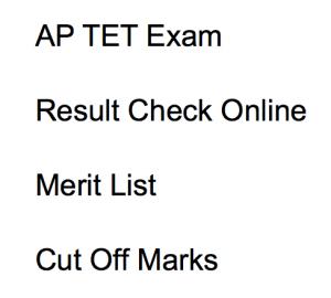 ap tet result 2017 2018 merit list expected cut off marks qualifying score andhra pradesh teacher eligibility test aptet aptet.cgg.gov.in